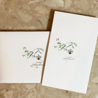 カルティエ(Cartier)のCartier 便箋 レア物 新品(カード/レター/ラッピング)
