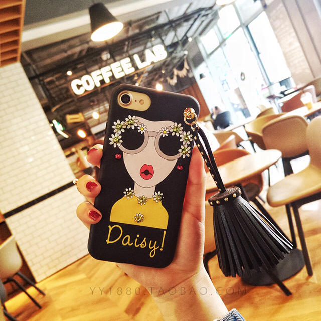 moschino iphone8plus ケース 通販 | iPhone7 ケース タッセル スタッズ 韓国ガールの通販 by made_world's shop|ラクマ