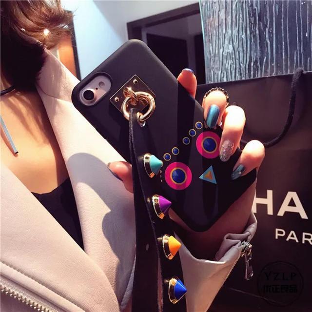 スマホ カバー オシャレ / iphone6plusケース ベルト スタッズの通販 by ちゃま's  shop|ラクマ