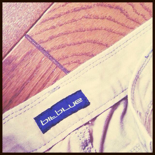 X-girl(エックスガール)のビットブルー サルエル お取り置き中☻ レディースのパンツ(サルエルパンツ)の商品写真