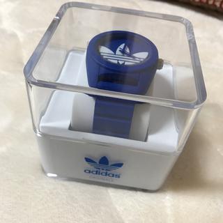 アディダス(adidas)のアディダスオリジナルス 腕時計 青 ブルー 箱付き(腕時計)
