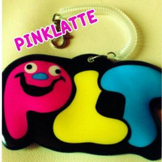 ピンクラテ(PINK-latte)のパスケース*定期入れ(名刺入れ/定期入れ)