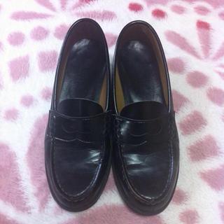 ローファー ブラック(ローファー/革靴)