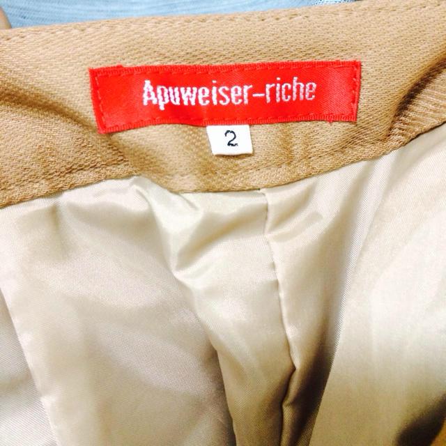 Apuweiser-riche(アプワイザーリッシェ)のアプワイザーリッシェ☆キュロット☆2 レディースのパンツ(キュロット)の商品写真