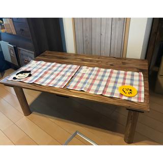 【国産天然杉】横幅120cmセンターテーブル(ローテーブル)