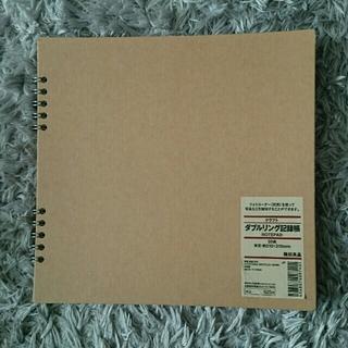 ムジルシリョウヒン(MUJI (無印良品))の無印良品 クラフト ダブルリング記録帳(ノート/メモ帳/ふせん)
