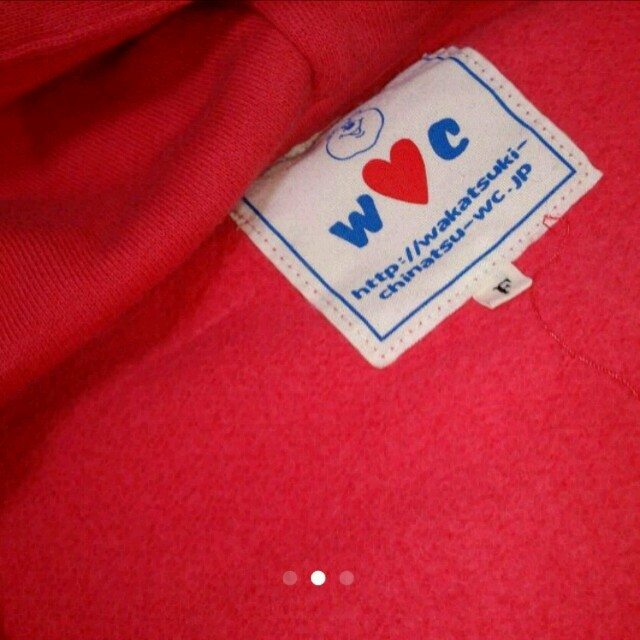 wc(ダブルシー)のWC/ジップパーカー レディースのトップス(パーカー)の商品写真