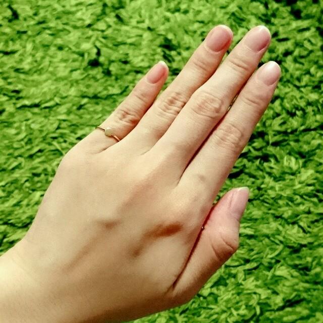 ジュエッテK10ピンキーリング レディースのアクセサリー(リング(指輪))の商品写真