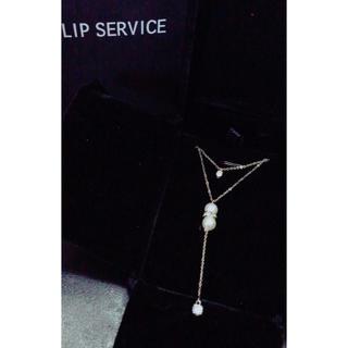 リップサービス(LIP SERVICE)のLIP SERVICE 10kネックレス(ネックレス)