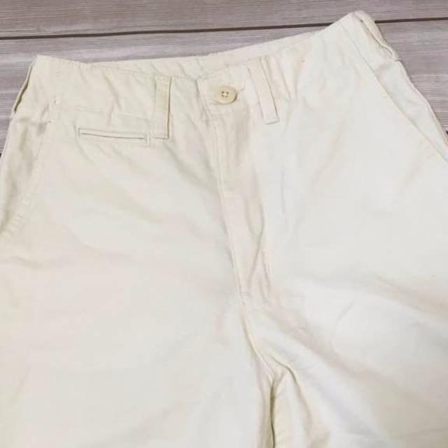 GU(ジーユー)のGU★ジーユー ワイドパンツ ホワイトパンツ 白 チノパンツ レディースのパンツ(バギーパンツ)の商品写真