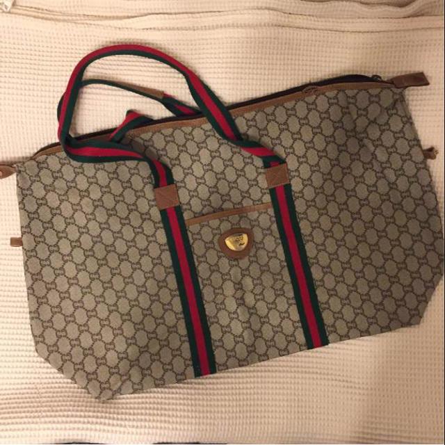 839a11a73944 Gucci - GUCCI plus グッチ ボストンバッグの通販 by まめちび's shop ...