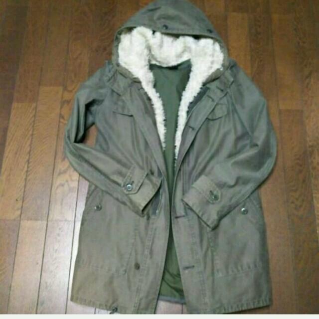 LE CIEL BLEU(ルシェルブルー)のルシェルブルー  Rawtus モッズコート レディースのジャケット/アウター(モッズコート)の商品写真