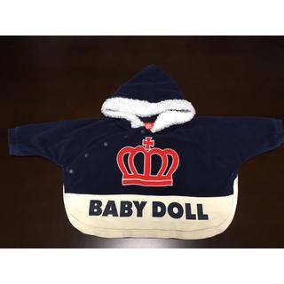 ベビードール(BABYDOLL)のbaby doll ポンチョ サイズ70(カーディガン/ボレロ)