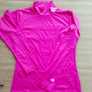 アディダス(adidas)のゴルフウエア(Tシャツ(長袖/七分))