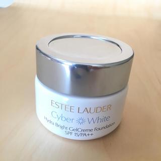 エスティローダー(Estee Lauder)のエスティローダー サイバー ホワイト ジェルクリーム ファンデーション(ファンデーション)