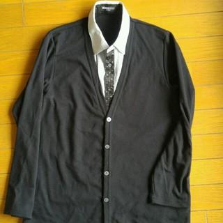 ミチコロンドン(MICHIKO LONDON)のシャツ付きカーディガン160cm(ジャケット/上着)