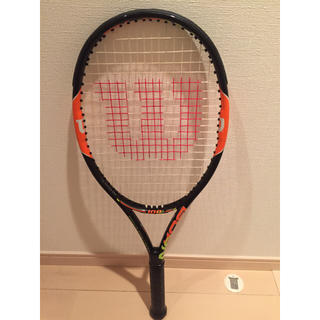 ウィルソン(wilson)の美品 wilson burn100team テニスラケット(ラケット)
