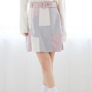 ワンアフターアナザーナイスクラップ(one after another NICE CLAUP)の新作♡ベスト付き台形スカート♡(ミニスカート)