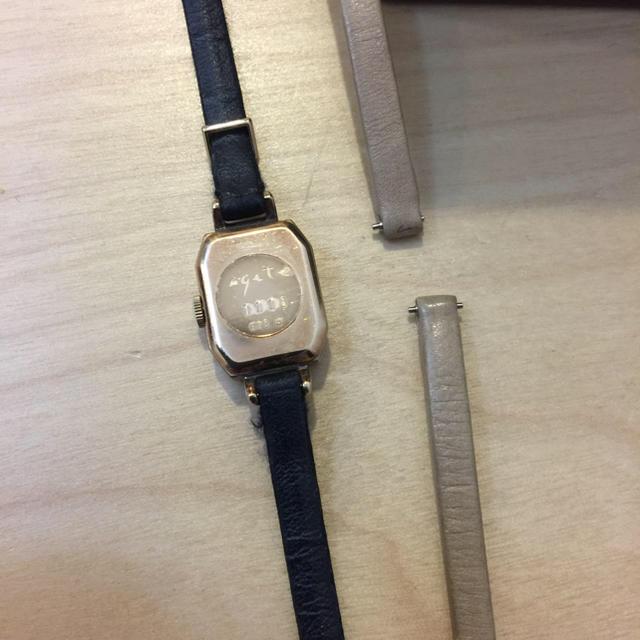 agete(アガット)の本日限定値下げいたします‼︎ アガット 時計  レディースのファッション小物(腕時計)の商品写真