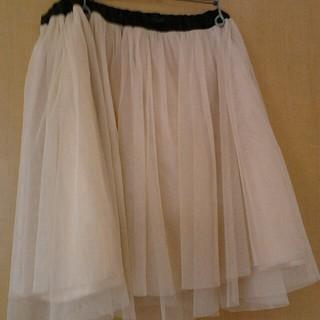 チュールスカート3L(ミニスカート)