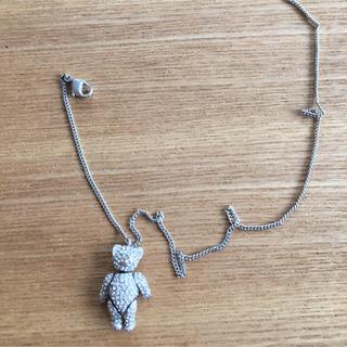 クリスチャンディオール(Christian Dior)のディオールクマキラキラネックレス (ネックレス)