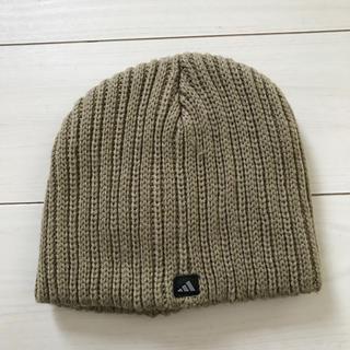 アディダス(adidas)のアディダスニット帽  フリーサイズ(ニット帽/ビーニー)