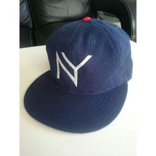 アカプルコゴールド(ACAPULCO GOLD)のアカプルコ ゴールド ACAPULCO GOLD キャップ 帽子 ネイビー NY(キャップ)