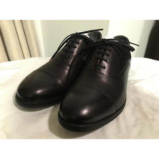 アルフレッドバニスター(alfredoBANNISTER)の今期本物アルフレッドバニスターデザインドレスシューズ靴ブーツ本革レザー黒メンズ(ドレス/ビジネス)