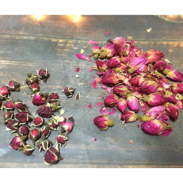 ドライフラワーセット③バラの花びら 2種類 ハンドメイドのフラワー/ガーデン(ドライフラワー)の商品写真