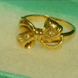 ティファニー(Tiffany & Co.)の[k18・早い者勝ち]ダイヤリボンリング ティファニー・カルティエ好きな方に(リング(指輪))