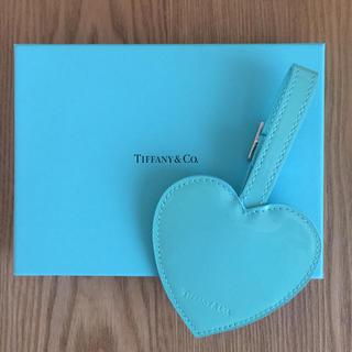 ティファニー(Tiffany & Co.)の値下げします!【正規品★未使用】ティファニーネームタグ(旅行用品)