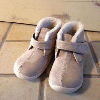 ムジルシリョウヒン(MUJI (無印良品))のボア付きショートブーツMUJI(ブーツ)