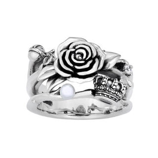 ジャスティンデイビス(Justin Davis)のジャスティン 薔薇(リング(指輪))