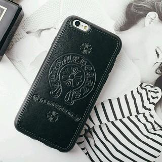 クロムハーツ(Chrome Hearts)の【ブラック】人気モデル iPhone7 スマホケース 最新クロムハーツデザイン(iPhoneケース)