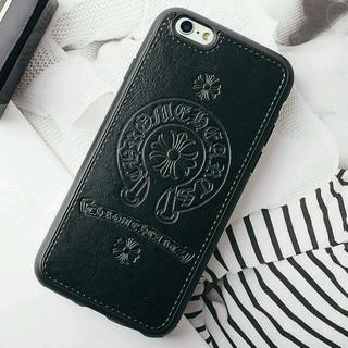 クロムハーツ(Chrome Hearts)の【ブラック】iPhone7 plusスマホケース 最新クロムハーツデザイン(iPhoneケース)