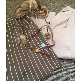 ロキエ(Lochie)のused vintage happy bag♡(ひざ丈スカート)