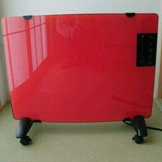【クミ様専用】空気を汚さない ガラスパネルヒーター(電気ヒーター)