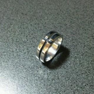 激安★リング 指輪 クロス クロム系 ブラック シルバー(リング(指輪))