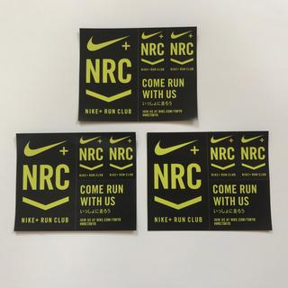 ナイキ(NIKE)のNIKE ステッカーシート 3枚セット RUN CLUB 新品 即決 ナイキ ブ(その他)