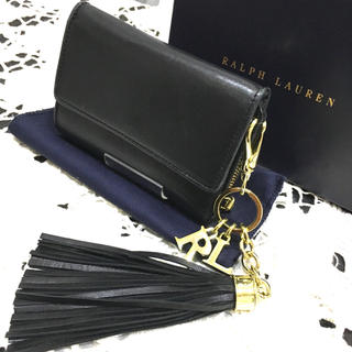 ラルフローレン(Ralph Lauren)のラルフローレン タッセル付きレザー折財布(折り財布)