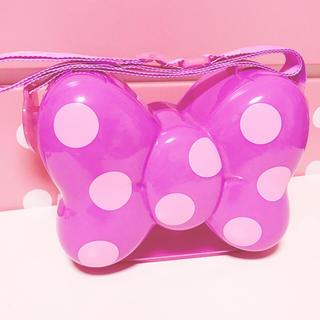 ディズニー(Disney)のデイジー ポップコーンバケツ リボン 紫 ディズニー(その他)