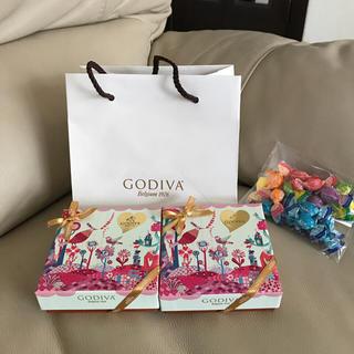 GODIVA-ゴディバ ビュッフェ ドゥ ガトー アソートメント 4粒入り 2箱(菓子/デザート)