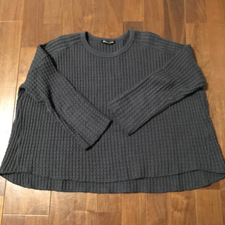 ムジルシリョウヒン(MUJI (無印良品))のmizuiro ind. ワッフルニット(ニット/セーター)