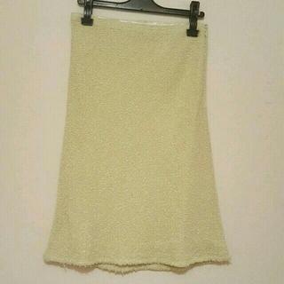 フラジール(FRAGILE)の【お値下げ】美品!FRAGILE スカート(38)(ひざ丈スカート)