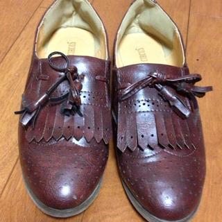 オジ靴(*ꆤ.̫ꆤ*)ダークブラウン(ローファー/革靴)