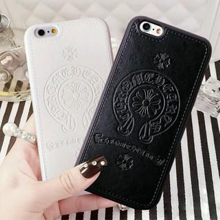 クロムハーツ(Chrome Hearts)の【ブラック】iPhone6/6s スマホケース最新一番人気クロムハーツデザイン(iPhoneケース)