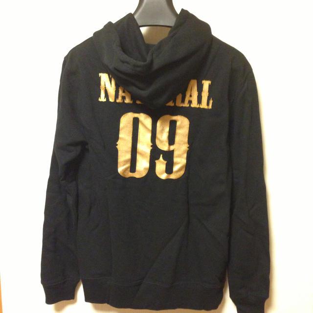 NATURAL NINE(ナチュラルナイン)のナチュラルナイン パーカー ブラック レディースのトップス(パーカー)の商品写真