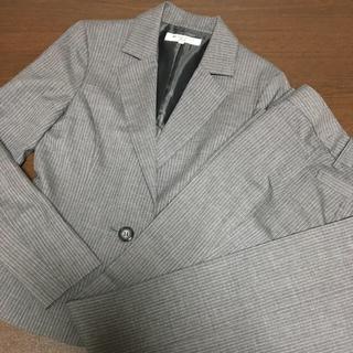 ナチュラルビューティーベーシック(NATURAL BEAUTY BASIC)のNATURAL BEAUTY BASIC☆グレーストライプスーツ(スーツ)
