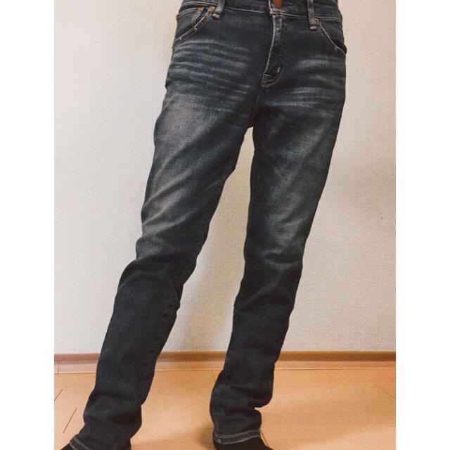 MUJI (無印良品)(ムジルシリョウヒン)の無印良品 ジャパンデニム レディースのパンツ(デニム/ジーンズ)の商品写真