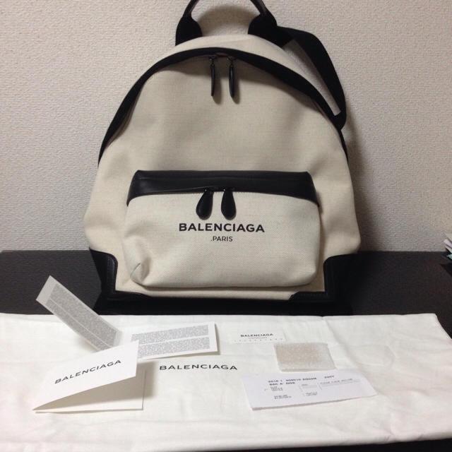 Balenciaga(バレンシアガ)の新品☆バレンシアガ☆リュック☆白 バッグ バックパック レディース
